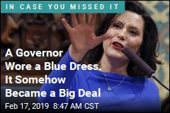 A Governor Wore a Blue Dress. It Somehow Became a Big Deal