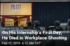 Workplace Shooting Victim Was Intern on His First Day