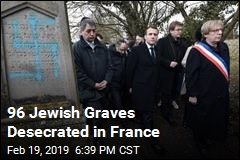 96 Jewish Graves Desecrated in France