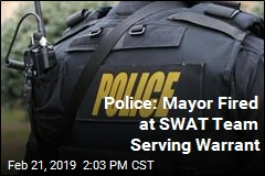 Police: Mayor Fired at SWAT Team Serving Warrant
