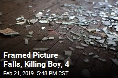 Boy, 4, Killed When Framed Picture Falls