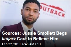 Jussie Smollett Shot Empire Scenes After Release: Sources