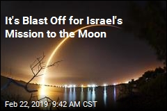 It's Blast Off for Israel's Mission to the Moon