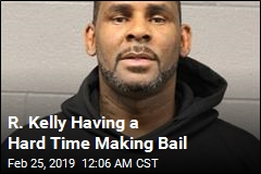 R. Kelly Hasn't Made Bail Yet