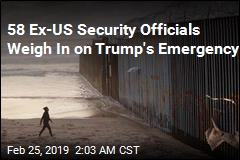 58 Former US Security Officials Oppose Emergency Declaration