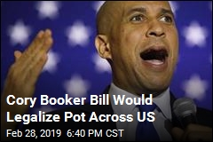 Cory Booker Bill Would Legalize Pot Across US