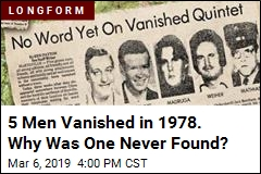 5 Men Vanished in 1978. Why Was One Never Found?