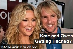 Kate and Owen Getting Hitched?