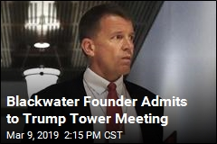Erik Prince: I Attended Trump Tower Meeting