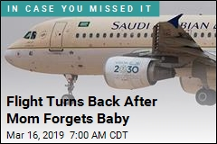 Plane Does U-Turn After Mom Forgets Baby