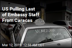 US Pulling Last of Embassy Staff From Caracas