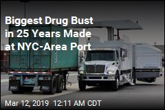 Biggest Drug Bust in 25 Years Made at NYC-Area Port