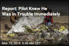 Report: Pilot Knew He Was in Trouble Immediately