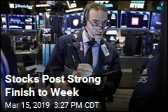 Stocks Post Strong Finish to Week