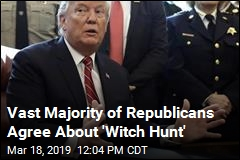 In Poll, 50% Agree With Trump About 'Witch Hunt'