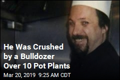 He Was Crushed by a Bulldozer Over 10 Pot Plants