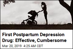 FDA Approves First Drug Targeting Postpartum Depression