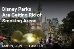 Disney Bans Smoking in Theme Parks