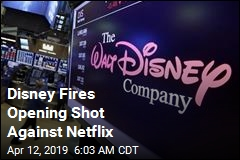 Disney Fires Opening Shot Against Netflix