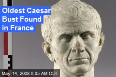 Oldest Caesar Bust Found in France