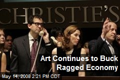 Art Continues to Buck Ragged Economy