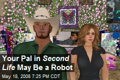 Your Pal in Second Life May Be a Robot