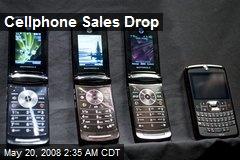 Cellphone Sales Drop