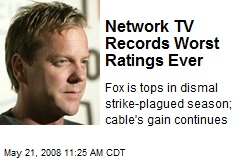 Network TV Records Worst Ratings Ever