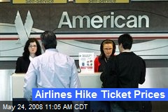 Airlines Hike Ticket Prices