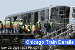 Chicago Train Derails