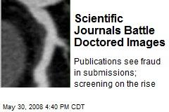 Scientific Journals Battle Doctored Images