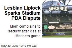 Lesbian Liplock Sparks Stadium PDA Dispute