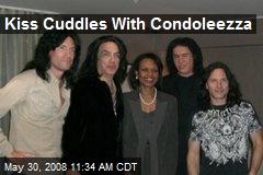 Kiss Cuddles With Condoleezza