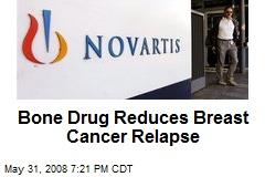 Bone Drug Reduces Breast Cancer Relapse