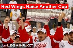 Red Wings Raise Another Cup