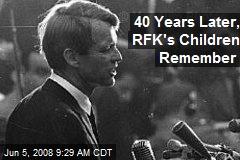 40 Years Later, RFK's Children Remember