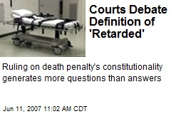 Courts Debate Definition of 'Retarded'