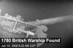 1780 British Warship Found