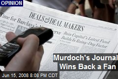 Murdoch's Journal Wins Back a Fan