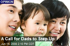 A Call for Dads to Step Up