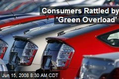 Consumers Rattled by 'Green Overload'