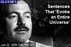 Sentences That 'Evoke an Entire Universe'