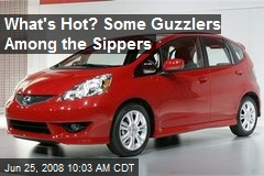 What's Hot? Some Guzzlers Among the Sippers