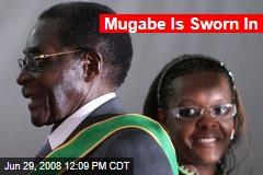 Mugabe Is Sworn In