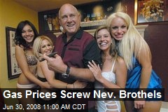 Gas Prices Screw Nev. Brothels