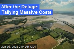 After the Deluge: Tallying Massive Costs