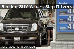 Sinking SUV Values Slap Drivers