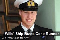 Wills' Ship Busts Coke Runner