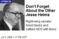 Don't Forget About the Other Jesse Helms