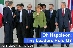 Oh Napoleon: Tiny Leaders Rule G8